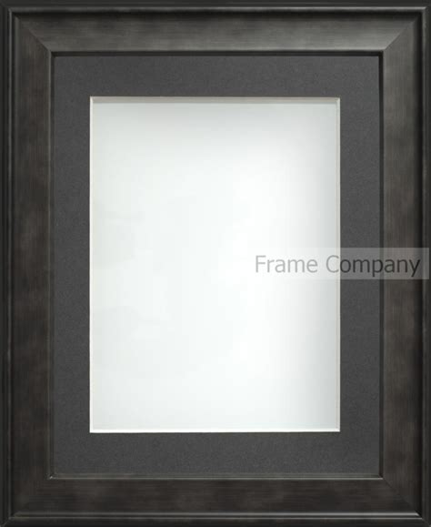 charcoal a2 23 4x16 5 frame with grey mount cut for