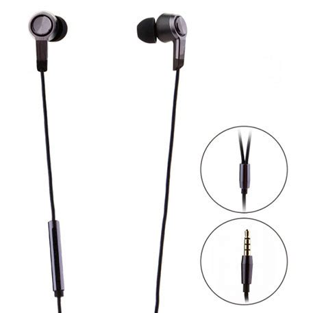 Headset Xiaomi Piston Black V3 xiaomi mi piston v3 in ear headphones black reviews