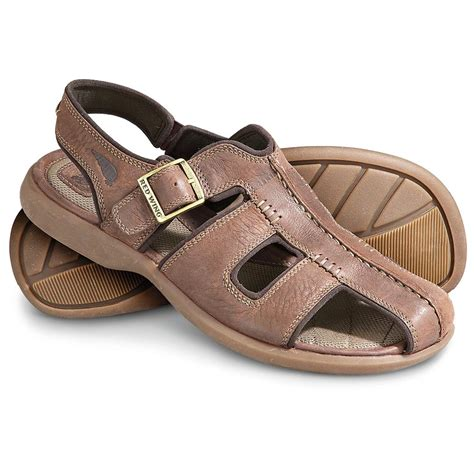 mens fisherman sandals sale s wing 174 fisherman s sandals brown 144352