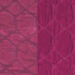satin velvet quilted fabric by the yard in choice of color
