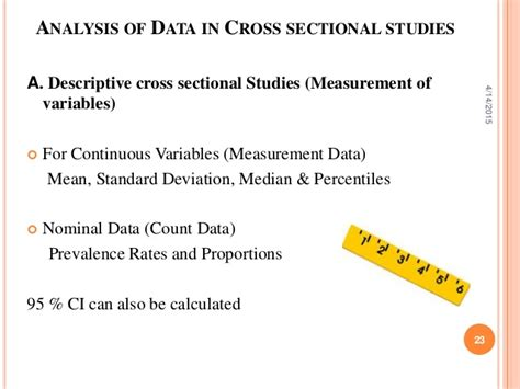 what does cross sectional study mean cross sectional study