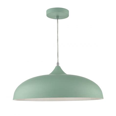 Retro Mint Green Ceiling Pendant Light Great For Kitchen Green Pendant Lighting