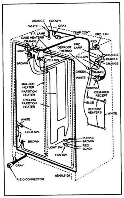 simple refrigerator wiring diagram choice image wiring