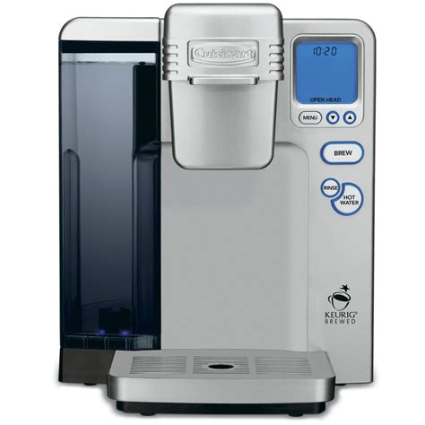 Coffee Maker Manual cuisinart ss700 single serve k cup coffee maker powered by