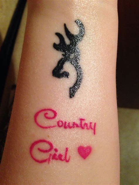 country girl tattoo designs country browning tattoos www imgkid the image