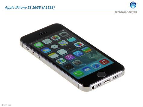 apple 5s smartphones ihs sch 228 tzt materialwert f 252 r iphone 5c und