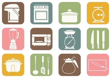 Design Your Kitchen Online For Free Cooking And Kitchen Vector Icons Download Free Vector