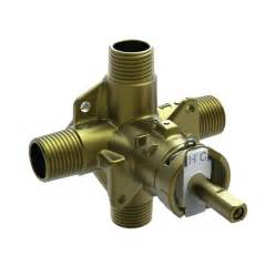 shop moen 1 2 in brass compression in line shower valve at