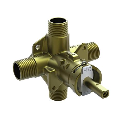 Pressure Balancing Valve For Shower by Shop Moen Brass Compression Pressure Balancing Shower
