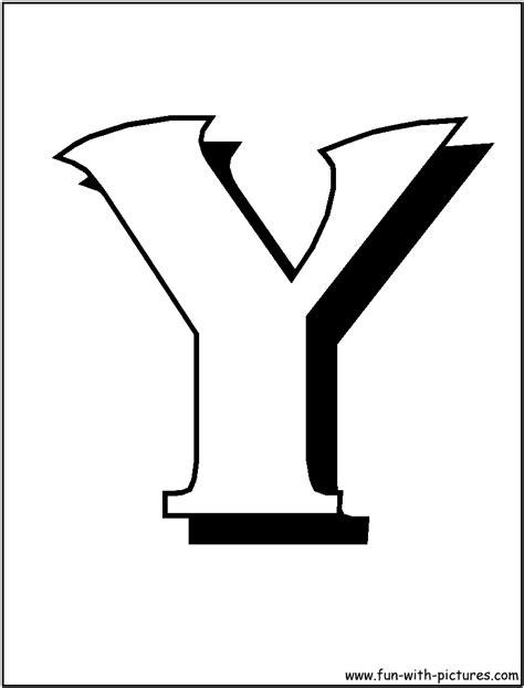 4 best images of printable block letter y printable