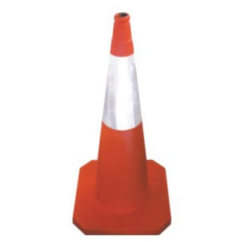 Generic Rubber 70cm Traffic Cone rubber traffic cone tc501