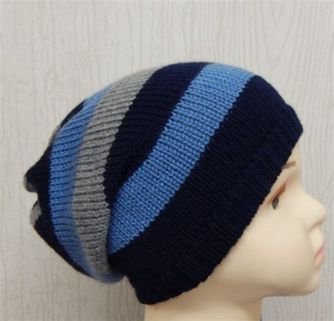 toddler knit hat boys knitted slouch hat knit toddler slouchy beanie handmade