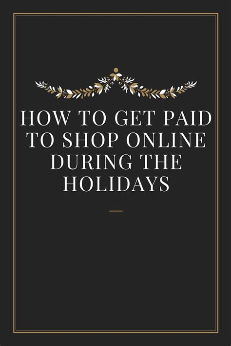 Get Paid To Shop - get paid to shop online bree west