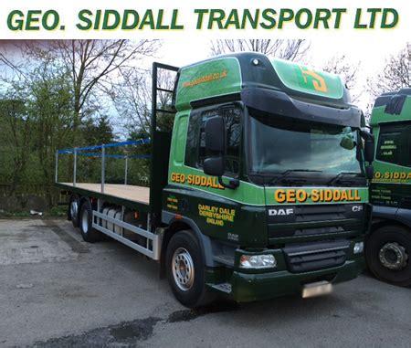 b j waters & geo. siddall transport home
