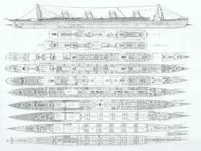 rms titanic deck plans the wreck of rms titanic decks on