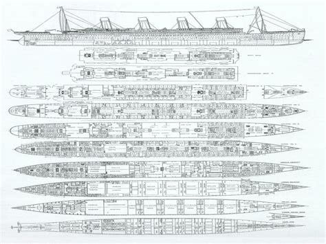 titanic floor plan titanic layout pictures to pin on pinterest pinsdaddy