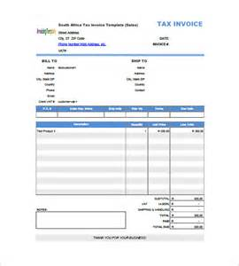 invoice template with value added tax 8 free sample