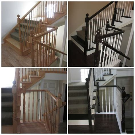 how to restain stair banister restaining banister 28 images remodelaholic diy stair