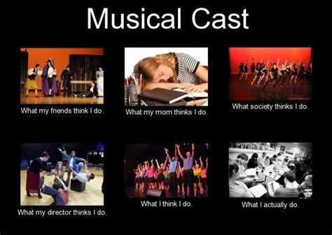 Script Meme - 12 memes every musical theatre actor will understand