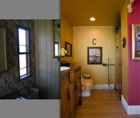inspiring before and after pics of an interior designer s manufactured home remodel designers