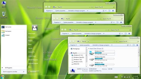 windows xp themes for windows 8 1 aerovg ei8ht 1ne theme for windows 8 1 by vishal gupta on