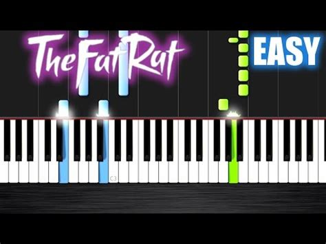 piano tutorial unity thefatrat unity easy piano tutorial by plutax youtube