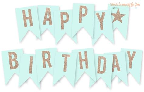 How To Make A Happy Birthday Banner Of Paper - happy birthday banner printable best business template