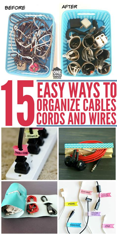 organize cords on 15 diy cord organizers to keep your wires and cables untangled