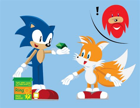 Sonic A 12 E sonic finds a prize by gemstonelover49 on deviantart