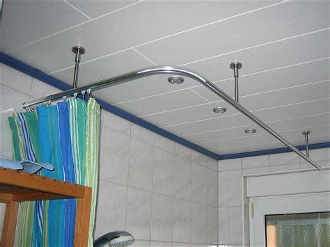 duschvorhangstange badewanne innenlauf duschvorhangstange 216 20mm gerade