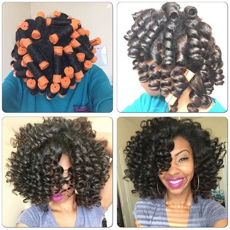 Hairstyles With Perm Rods by 5 Stunning Pictorials Of Perm Rod Styles Black With