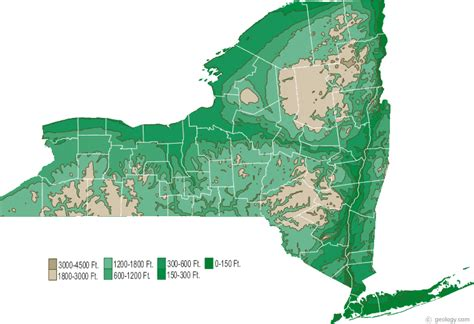 map of state of new york map of new york