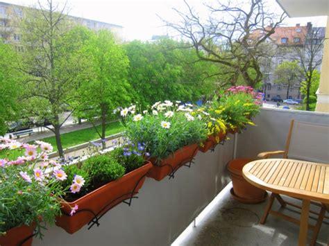 Balkon Gestalten Pflanzen by Balkonbepflanzung Den Balkon Vor Freude Strahlen Lassen