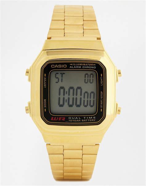 casio casio gold digital vintage style a178wga 1
