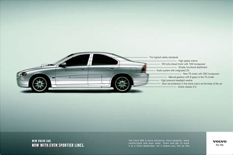 volvo advertisement read line by line ad strategy