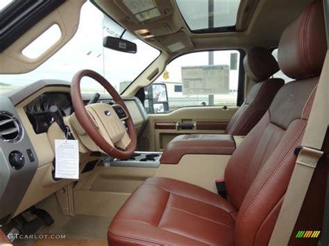 2012 F250 Interior by 2012 Ford F250 Duty King Ranch Crew Cab 4x4 Interior