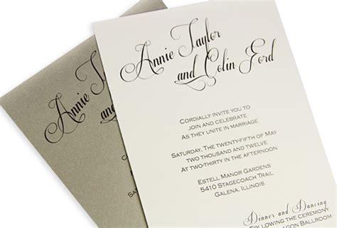 how to calligraphy wedding invitations diy 4 steps to diy calligraphy wedding invitations