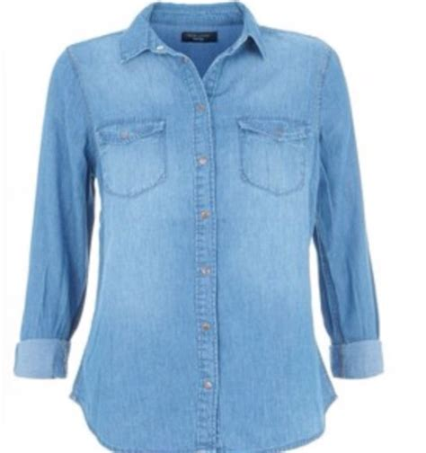 light blue button up shirt womens vintage 90s denim jean chambray button up shirt