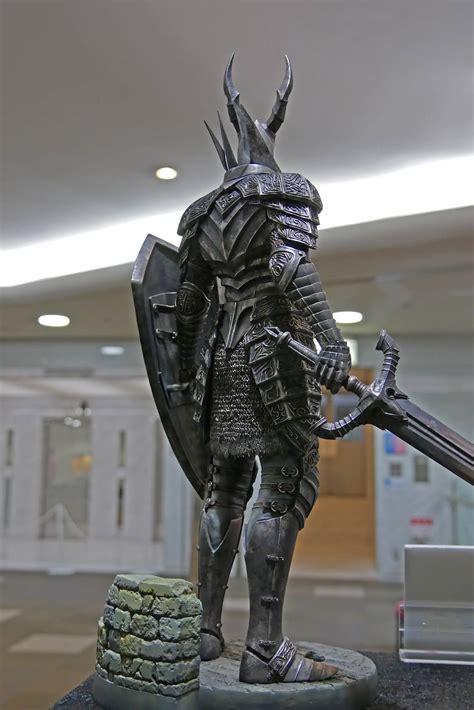 gecco black knight statue dark souls revealed
