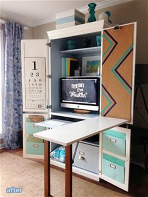 Computer Armoire With Fold Out Desk 1000 Ideas About Computer Armoire On Pinterest Armoires Computer Desks And Desks