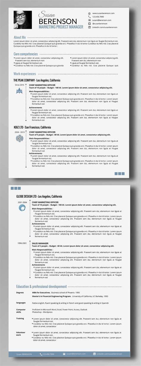 Resume Setup Example Resume Setup