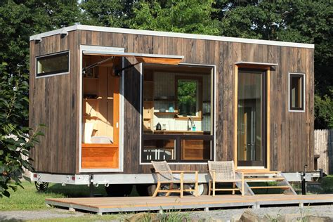 tiny house with modern 21ft tiny house with secret ceiling bed and remote