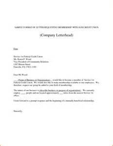 Business Letter Exle Letter Of Request 12 Formal Letter Format Sle Of Request Financial