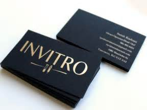 business cards black black business cards