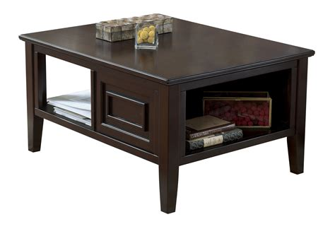 brown wood coffee table larimer contemporary brown wood coffee table set