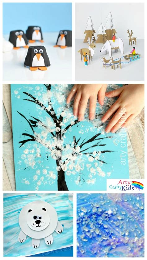 crafts winter 16 easy winter crafts for arty crafty