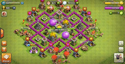 layout design cv 6 adv brasil clash of clans abril 2014