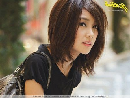 asian hairstyles for women middle asian mid length hair hair pinterest mid length hair