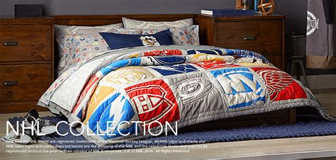 hockey bedding amp nhl bedding pbteen