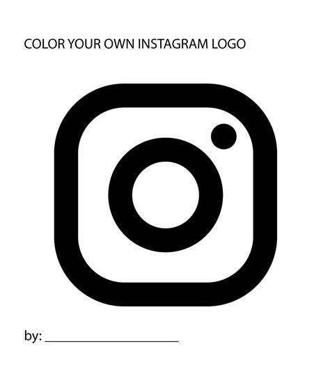 instagram logo coloring pages instagram logo coloring pages coloring pages